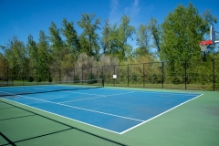 7-Tennis/Basketball Court